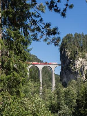 Der berühmte Landwasser-Viadukt