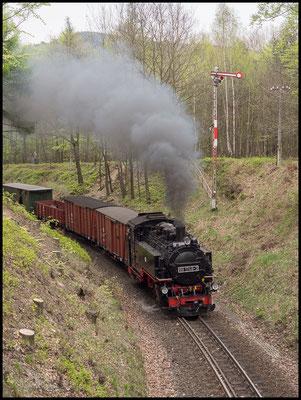 Ausfahrt Bertsdorf nach Jonsdorf