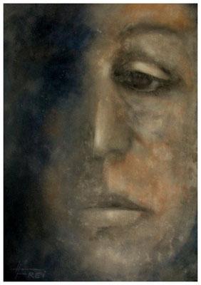 """ART HFrei - """"Warum ich?"""" - Mischtechnik - 2009"""
