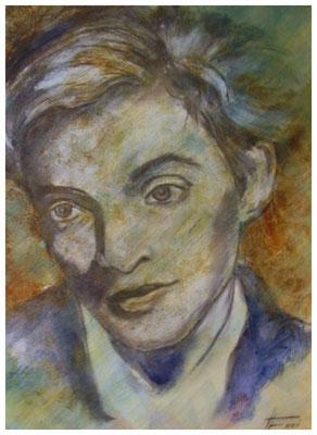 """ART HFrei - """"O. Werner"""" - Mischtechnik - 2008"""