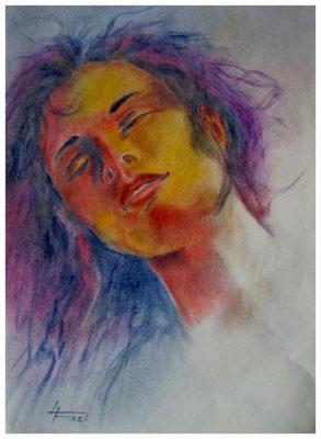 """ART HFrei - """"Sunshine"""" - Pastellkreide - 2009"""