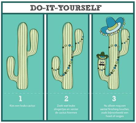 DIY-Cactus voor facebook