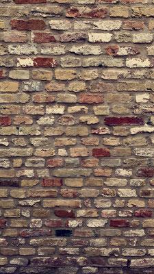 Mur de briques - Hertsbergestraat - Brugge - Bruges
