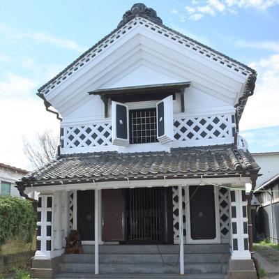 みやぎの明治村・登米にある登録有形文化財「角田屋座敷蔵」