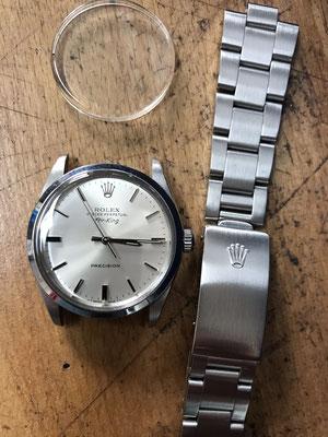 Rolex Glas Neu Uhrmacher Düsseldorf