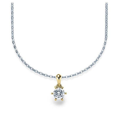 Hochzeitsschmuck Kette Platin Diamant
