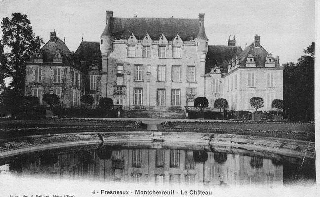 Château au début du 20è siècle