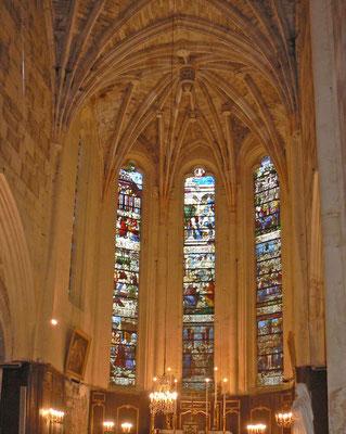 Eglise Saint Germain - choeur gothique flamboyant
