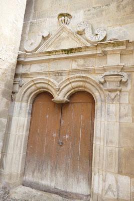 Eglise Saint Germain - ancienne porte de style renaissance après rénovation