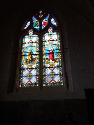 vitrail église st sulpive