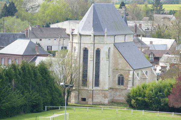 Eglise Saint Germain - vue arrière après rénovation