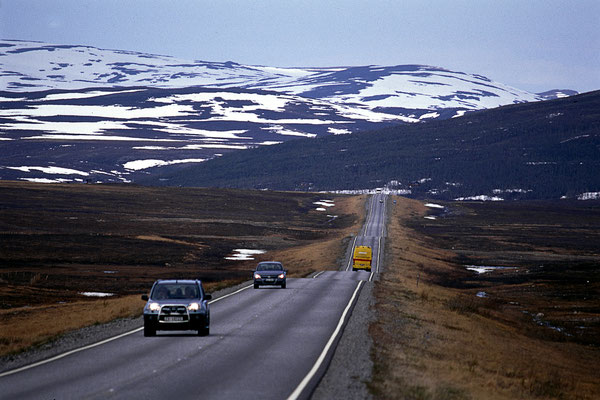 Crossing the tundra - Norwegen