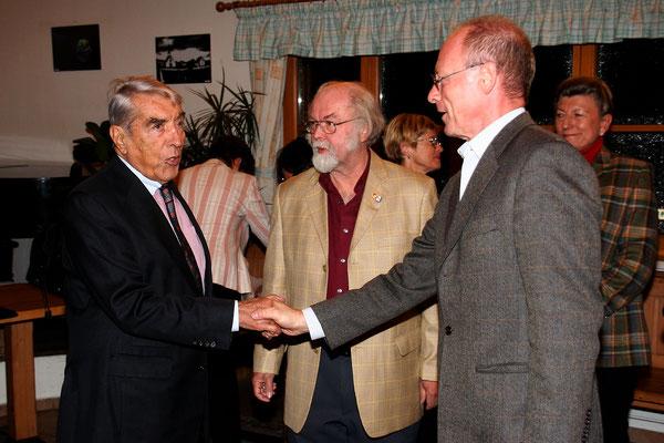 Ex-Bürgermeister Dr. Helmut Zilk & Dirigent Uwe Theimer