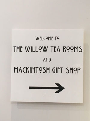 The Willow Tea Rooms, Buchanan Street, Glasgow