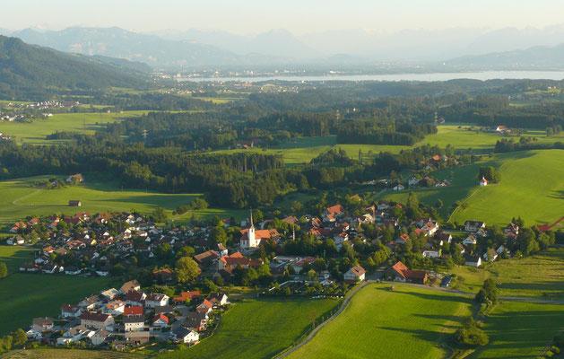Luftaufnahme Hergensweiler