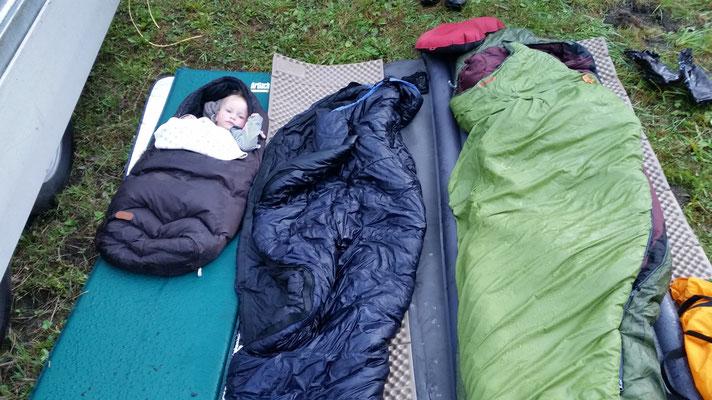 Alva schlief am Längsten! :-)