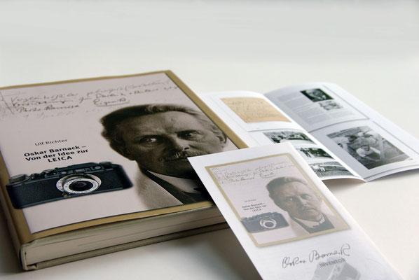 Buchgestaltung: Oskar Barnack (dt. Fotobuchpreis, silber, Kathegorie Fachbuch)