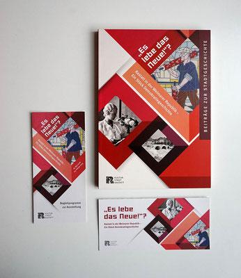 Ausstellungsbegleitende Publikation und Programm/Einladungskarte