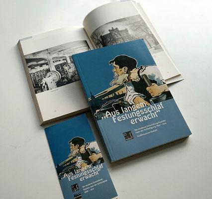 Ausstellungsbegleitende Publikation und Einladungskarte