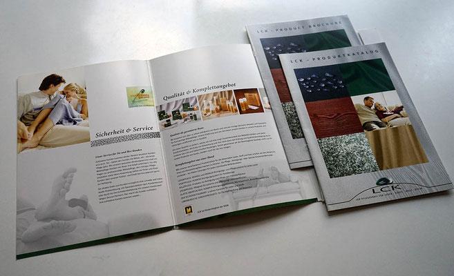 Imagemappe + Produktbroschüre
