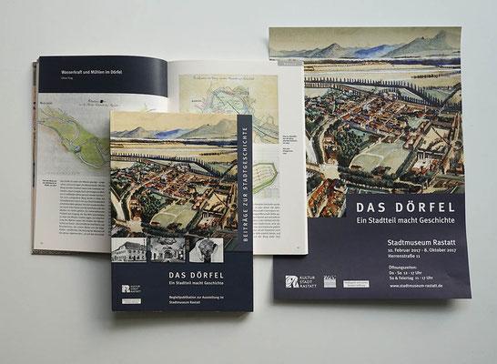 Ausstellungsbegleitende Publikation und Plakat