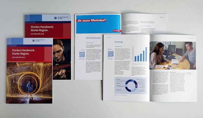 Geschäftsbericht der Handwerkskammer der Pfalz