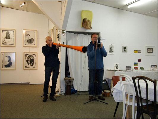 Live-Peformance von Hardy Döhrn und Bertolt Mohr beim Forum Nr. 17