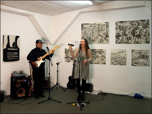 Brasilianischer Jazz beim Forum Art & Sound Nr. 18 mit Elsa Johanna Mohr und Alexander Cuesta Moreno