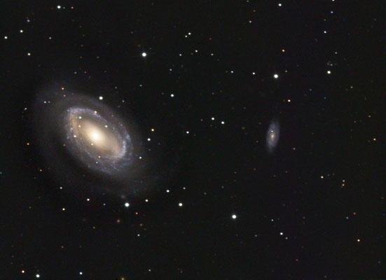 NGC4725 am 06.05.2018 - LUM 16x600s, 1x1 full -25Grad, Pos1822 mit Darks und Flats - RGB ... hab ich die Daten vergessen ;)