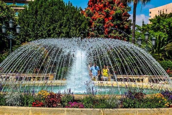Fontaine à Menton