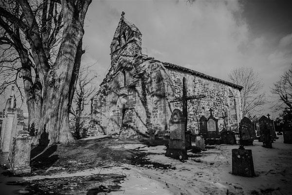 Sur la route de St Antoine l'Abbaye