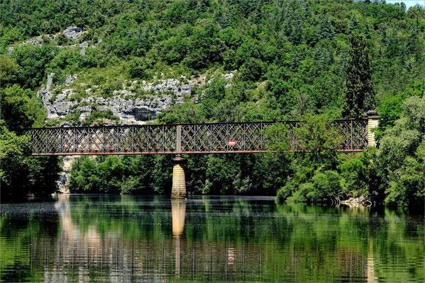 Pont SNCF sur le Lot
