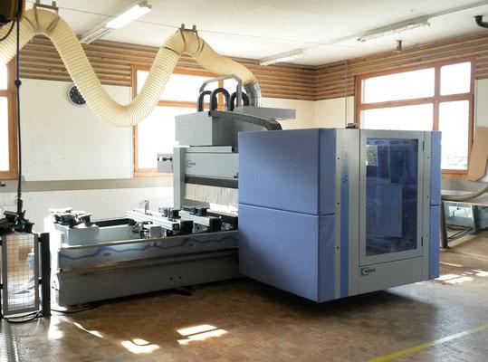 CNC-Maschine - Schreinerei Schmid AG in Oberönz
