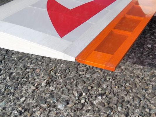 テストの結果、翼型は以前と同じものを採用
