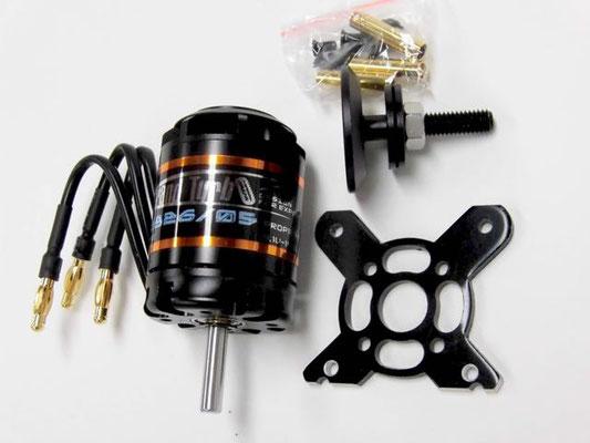 お勧めモーター E-MAX GT2826/05 860KV  コントローラーは抵抗の少ないものを使う。