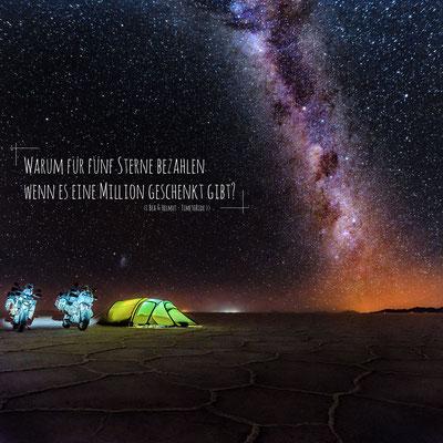 Warum für fünf Sterne bezahlen, wenn es eine Million geschenkt gibt? - Bea & Helmut - TimetoRide