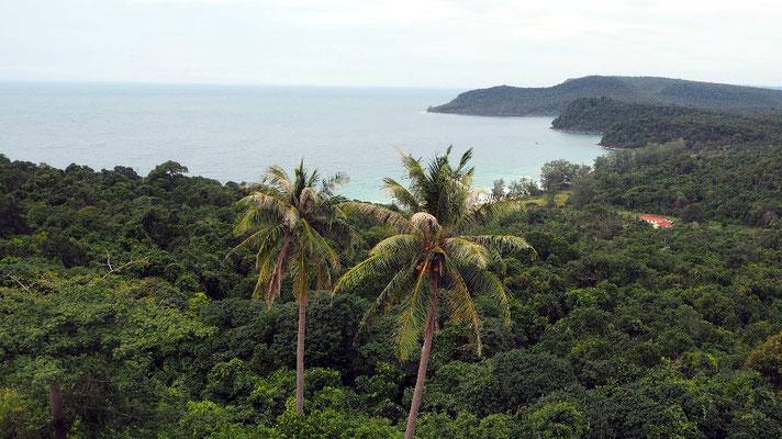 ... der uns einen tollen Blicküber die Insel eröffnete