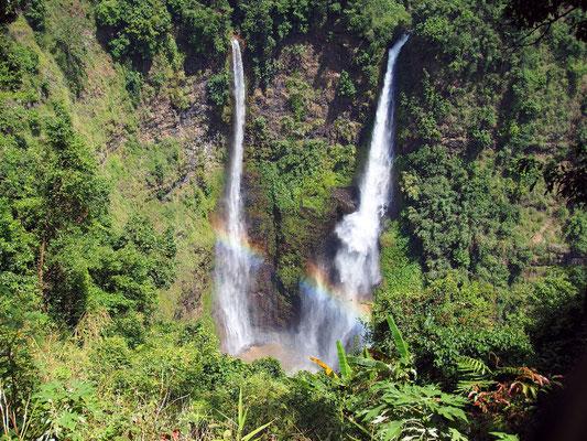 Tad Fan ist einer von den zahllosen Wasserfällen auf dem Bolavenplateau.