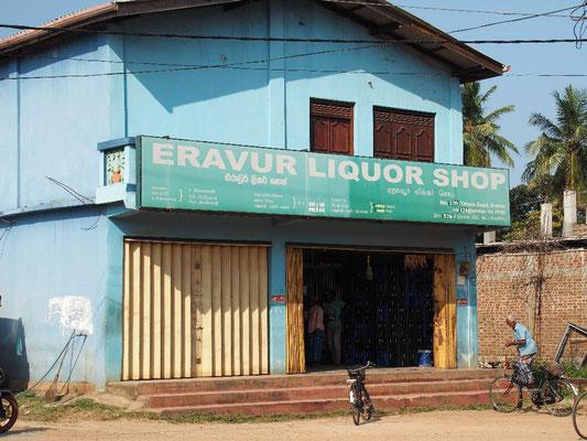 Liquor Store - Alkohol gibt es nur in ausgewählten Geschäften