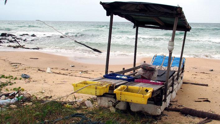 Selbstbau oder Selbstmord - Fischerboot aus Seilen und Styropor