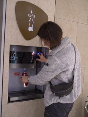 Vorbildlich - Trinkwasser zum Zapfen