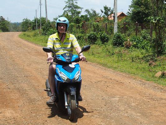 Mobil - Rollerfahren in Südostasien ist unkompliziert