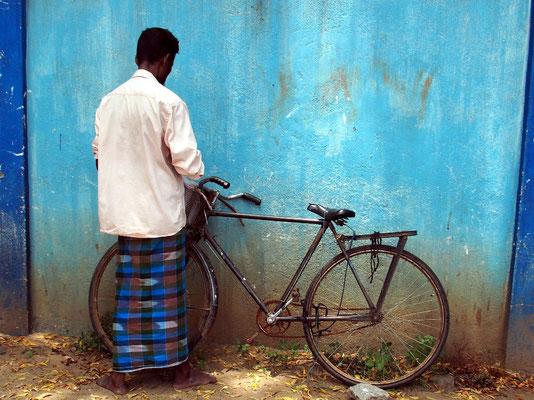 Fahrräder sind wichtiges Fortbewegungsmittel...