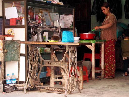 Nähstube in Nyaung Shwe