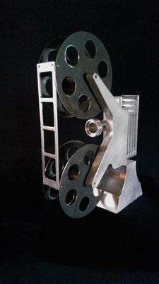 Projeter L:histoire, Aluminium, acier, 2017