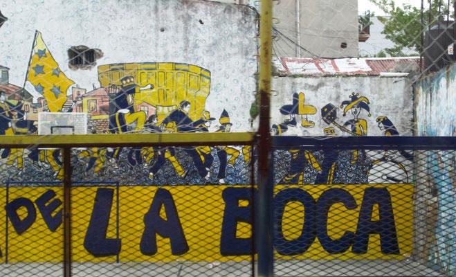 La Bonbonera, das Fussballstadion