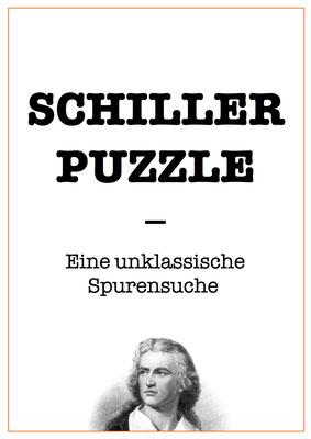 SCHILLER PUZZLE   Eine unklassische Spurensuche