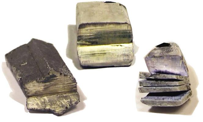 Die Schnittstellen von Lithium, Natrium und Kalium