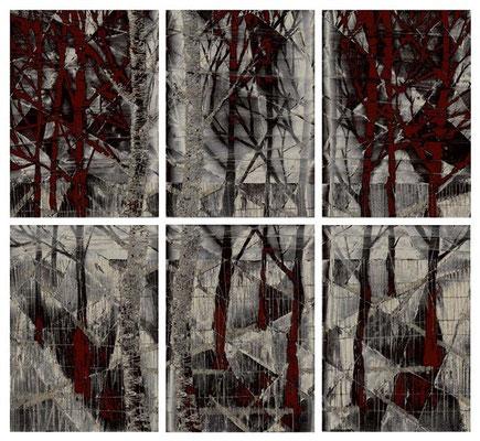 """""""quarta stagione"""" / AD009-05 / formati: originale [o] cm 60 x 60 - riproduzione ridotta [r] cm 38 x 36"""