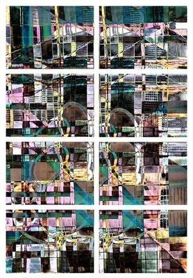 """""""neonanime"""" / AD009-12 / formati: originale [o] cm 60 x 80 - riproduzione ridotta [r] cm 36 x 50"""